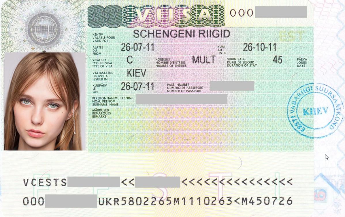 Эстонская виза