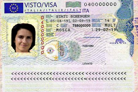 Читаем визу в Италию